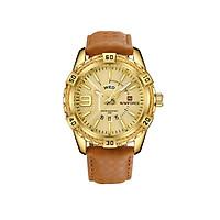 Đồng hồ nam NAVIFORCE Thời trang Quartz Chống nước dạ quang  - Silver Dial Silver Hand