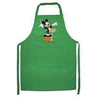 Tạp Dề Làm Bếp In Hình Chú Chuột Hoạt Hình Đáng Yêu - Mẫu005