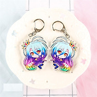 No game no life Acrylic Anime Keychain