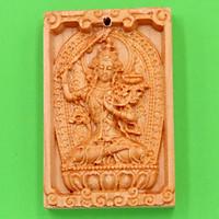 Mặt Phật gỗ ngọc am Văn Thù Bồ Tát MGPBM3