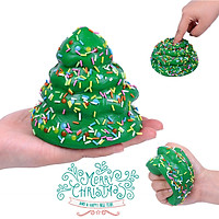 Siaonvr Stress Reliever Christmas Tree Scented Super Slow Rising Kids Toy Squeeze Toy