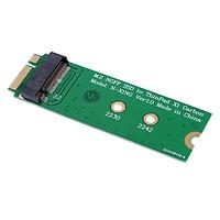 Fun M.2 NGFF SATA SSD to 20 + 6-pin 26-pin Adapter Converter for Lenovo ThinkPad X1 Carbon - Green