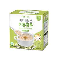 Cháo ăn dặm ISPOON Hàn Quốc cho bé 3 vị lựa chọn thơm ngon bổ dưỡng (91g)