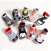 Unisex Baby Sock Shoes with Soft Rubber Bottom Toddler First Walker Anti-slip Thickened Floor Boot