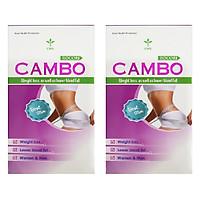 Thực phẩm bảo vệ sức khỏe hỗ trợ Giảm cân an toàn CAMBO dùng 15 ngày (2 hộp) công thức Mỹ