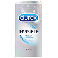 Bao Cao Su Invisible Durex 10S (10 Cái / Hộp) - 100930571