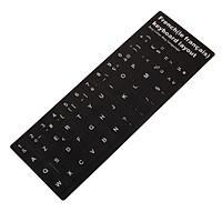 Miếng dán bàn phím tiếng Pháp (French Keyboard Sticker)