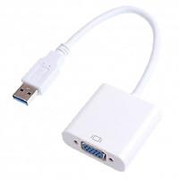 Cáp chuyển đổi USB 3.0 to VGA Full HD 1080 Chính hãng winet