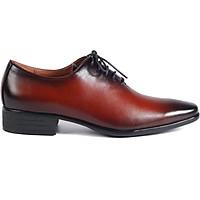 Giày Tây Nam Vina giầy AGT.A0059-LB-Nâu nhạt