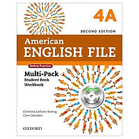American English File 4A Multi-Pack with Online Practice and iChecker