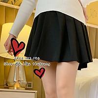 Chân váy bầu xếp ly (Có quần trong) Hàng Cao Cấp