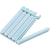 Set 5 Kẹp Nhựa Cao Cấp Bảo Quản Túi Đựng Thực Phẩm, Kẹp Niêm Phong Túi Đồ Ăn tiện lợi
