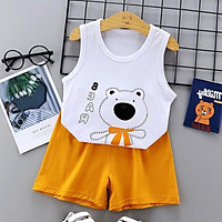 Bộ quần áo cho trẻ sơ sinh chất liệu thun cotton thoáng mát 103