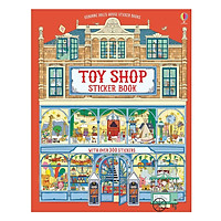 Usborne Toyshop Sticker Book