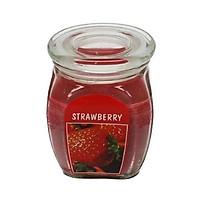 Hũ nến thơm Bolsius Strawberry BOL7957 540g (Hương dâu tây)