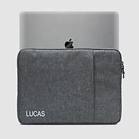 Túi chống shock, chống nước Lucas đựng Laptop, Surface, Macbook Pro 15, 16 inch - Hàng Chính Hãng