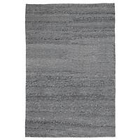 Thảm phòng khách JYSK Rabbesiv polyester màu xám