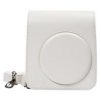 Bao Da Bảo Vệ Máy Chụp Ảnh Lấy Liền Instax Mini 70 CASE702 – White – Hàng Nhập Khẩu