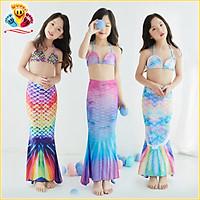 Quần áo tắm hóa trang nàng tiên cá, bikini đồ bơi đi biển cho bé gái siêu xinh E406