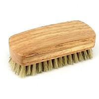 Bàn chải gỗ đánh giày lông heo thật XIMO (XBCDG04)