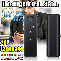 Pocket Portable Sway Language Simultaneous Interpretation 28 Languages For Travel Learning Shoping Intelligent Instant Voice Translator
