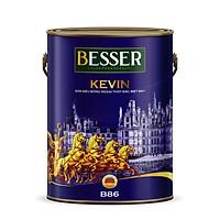 Sơn siêu bóng ngoại thất đặc biệt 8in1 BESSER - KEVIN