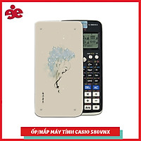 Ốp Trang Trí Dành Cho máy Tính Casiofx 580 VNX -Hoa