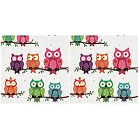 Combo 2 Xấp Khăn Giấy Ăn Trang Trí Bàn Tiệc Tissue Napkins Design Ti-Flair 340562 Xấp (33 x 33 cm) - 40 tờ