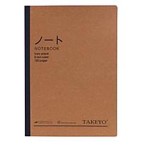Vở Kẻ Ngang A4 Takeyo - Màu Ngẫu Nhiên