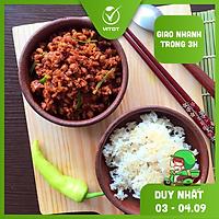[CHỈ GIAO HN] - VITOT FOOD THỊT CHƯNG MẮM TÉP (500g/ 1 hộp)
