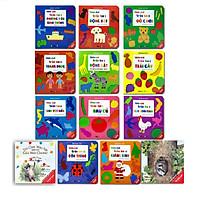 Sách - Combo Ehon tương tác giấy bồi cho trẻ 0-3 tuổi (13 cuốn)