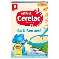 Bột Ăn Dặm Nestlé Cerelac - Cá Và Rau Xanh (200g)