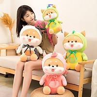 Gấu bông chó shiba cosplay dễ thương kích thước 20cm