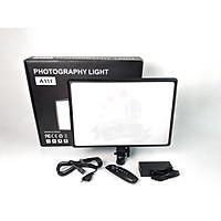Đèn studio A111 - Hỗ trợ chụp ảnh chuyên nghiệp - Photography light - Đèn hỗ trợ livestream, chụp ảnh, quay phim 3 chế độ sáng ( 3600K - 6000K) - Công suất 100W - Có remote