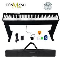 Bộ Đàn Piano Điện Bora BX1A- 88 Phím nặng Cảm ứng lực BX-1A Midi Keyboard Controllers BX1 - Kèm Chân Gỗ, Móng Gẩy DreamMaker
