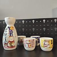 Bộ bình ly gốm sứ mẫu mèo ( 1 bình 4 ly)