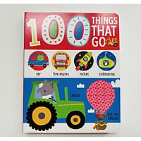 100 Things That Go - 100 Từ Đầu Tiên Về Các Phương Tiện Giao Thông