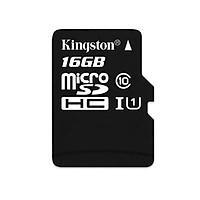 Thẻ nhớ Kingston Micro SDHC 16GB Class 10 80MB - Hàng Chính Hãng