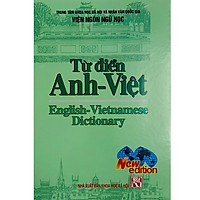 Từ Điển Anh - Việt 342000 Mục Từ (English - Vietnamese Dictionnary)(New Edition 2020)