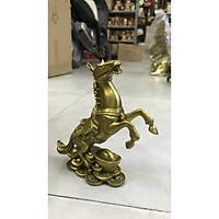 Decor trang trí - Ngựa thỏi và ng (kt 15x14cm)