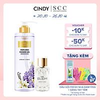Bộ đôi sữa tắm nước hoa & nước hoa nữ Cindy Bloom Urban Vibes mùi hương tự tin cuốn hút 640g + 30ml