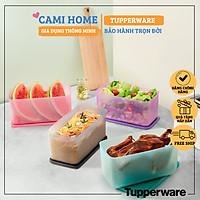 Bộ Hộp Bảo Quản Thực Phẩm Funtastic 3.1L, Bộ 4 Hộp Nhựa Nguyên Sinh Tupperware, An Toàn Chính Hãng