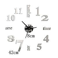Đồng hồ trang trí treo tường sáng tạo loại nhỏ 2D-01