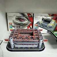 Đồ chơi lắp ráp Giấy 3D Mô hình Sân Vận Động Giuseppe Meazza San Siro Kèm đèn LED