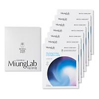 Miung Lab Moisturizing & Brightening - Mặt Nạ Dưỡng Da, Cấp Ẩm và Dưỡng Trắng (Hộp 7 Miếng)