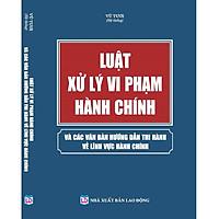 Luật Xử Lý Vi Phạm Hành Chính Và Các Văn Bản Hướng Dẫn Thi Hành Về Lĩnh Vực Hành Chính