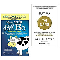 Combo Sách Kỹ Năng Sống Bán Chạy: Mật Mã Tài Năng + Ngày Xưa Có Một Con Bò (Bộ Sách Giúp Bạn Tạo Ra Bước Đột Phá Mới Trong Cuộc Sống / Tặng Kèm Bookmark Happy Life)