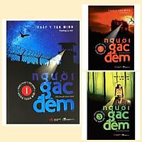 Combo 3 cuốn Tiểu thuyết trinh thám - Người gác đêm 1+2+3 ( Pháp Y Tần Minh) + Kèm Bookmark AHA