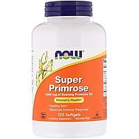 Viên Uống Now Foods Super Primrose Từ Tinh Dầu Hoa Anh Thảo 1300mg (120 Viên x 3 Hộp)
