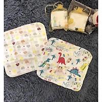 Combo 10 Khăn xô sữa hình xuất nhật cho bé (Mẫu ngẫu nhiên)